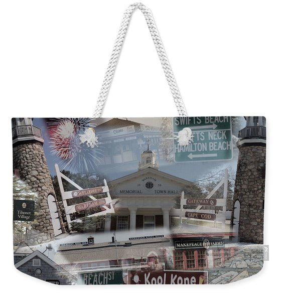Celebrate Wareham Weekender Tote Bag