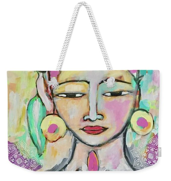 Celebrating Frida  Weekender Tote Bag