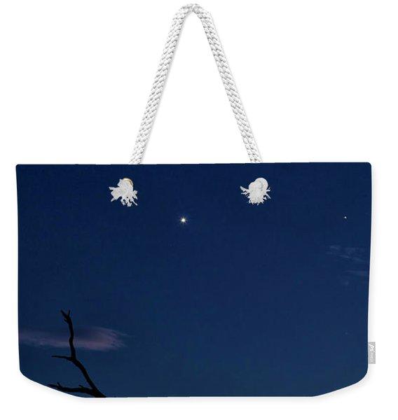 Celestial Alignment Weekender Tote Bag