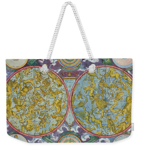 Celestial Map Of The Planets Weekender Tote Bag