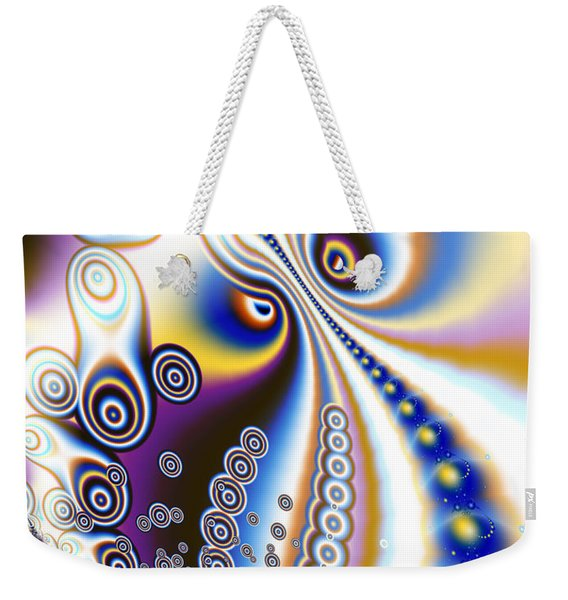 Celestial Monster Eyes Weekender Tote Bag