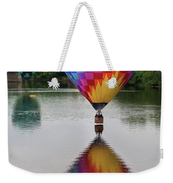 Celestial Reflections Weekender Tote Bag