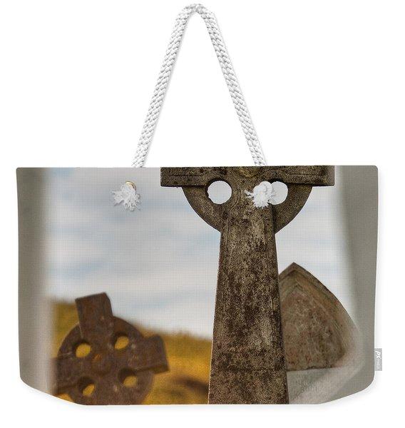 Celtic Crosses Weekender Tote Bag