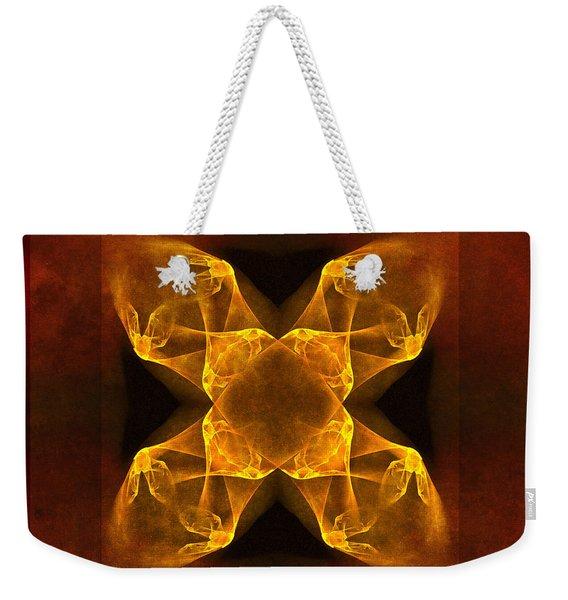 Celtic Gothica Weekender Tote Bag