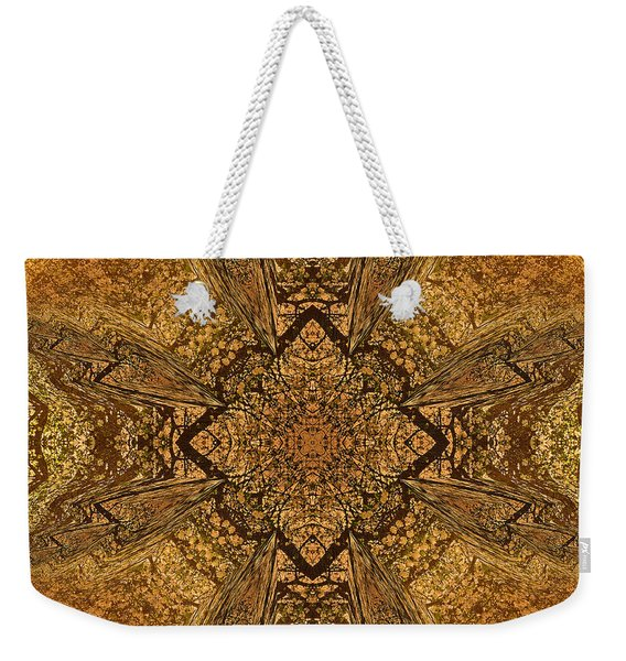 Celtic Mandala Abstract Weekender Tote Bag