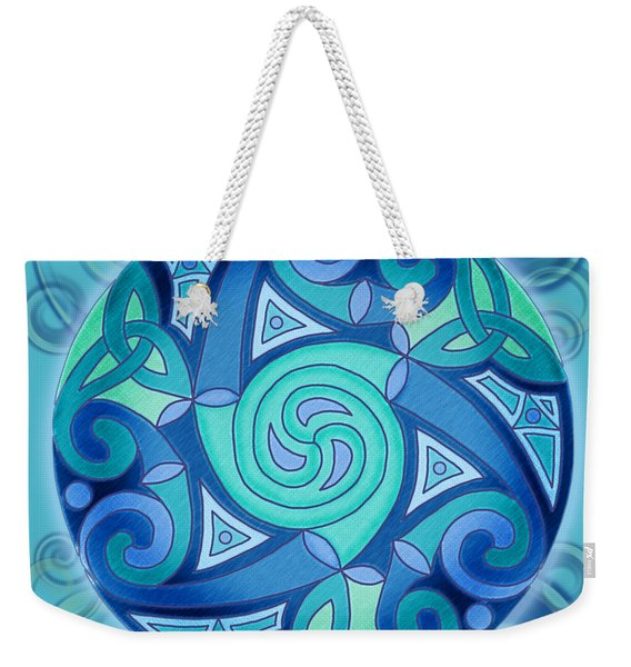 Celtic Planet Weekender Tote Bag