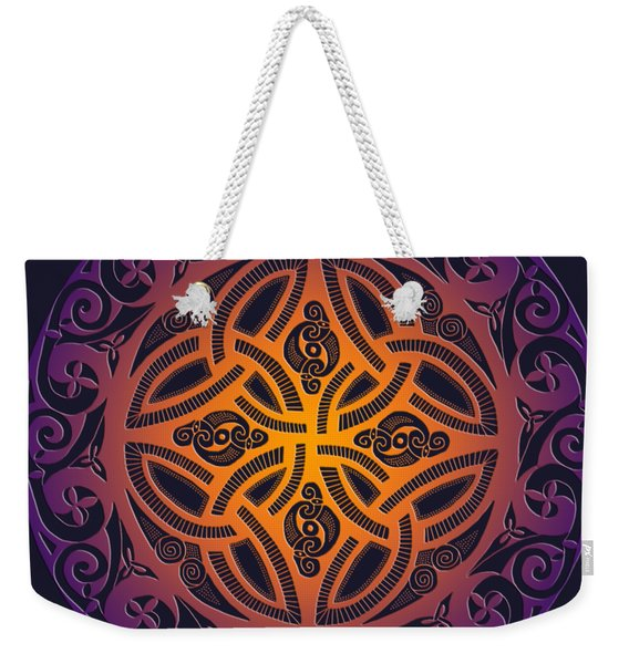 Celtic Shield Weekender Tote Bag