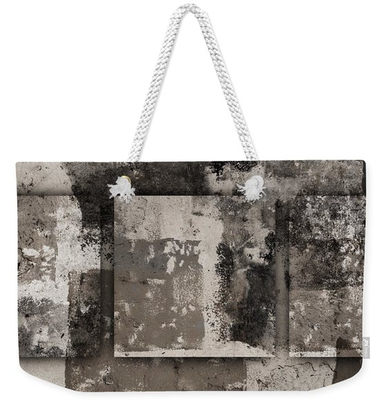 Cement Squares Number Four Weekender Tote Bag
