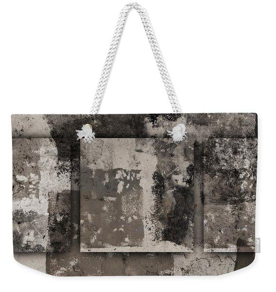 Cement Squares Number Three Weekender Tote Bag