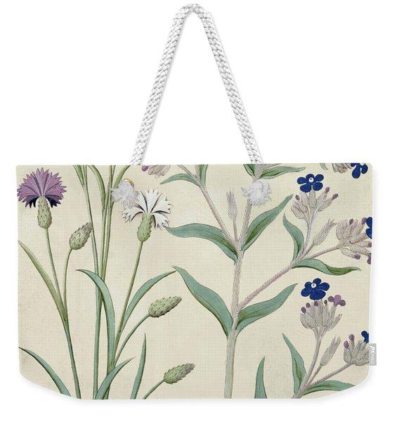 Centaurea Montana And Cornflowers Weekender Tote Bag