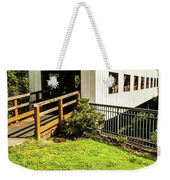 Centennial Bridge Weekender Tote Bag