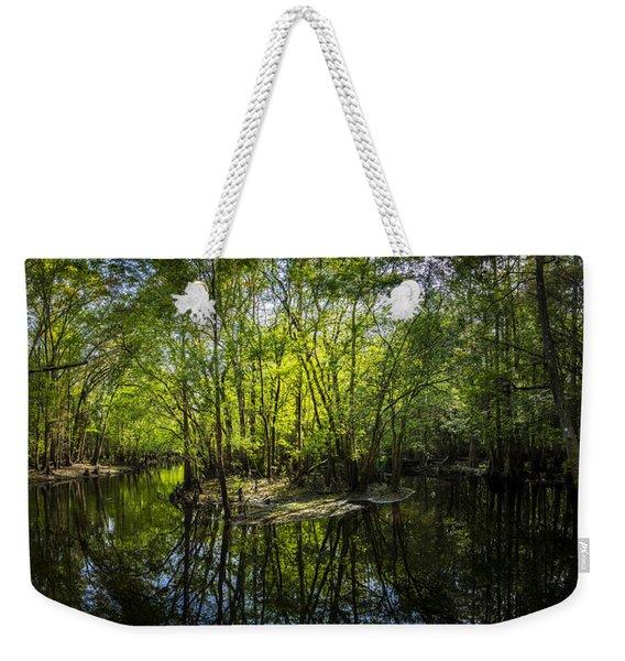 Center Island Weekender Tote Bag