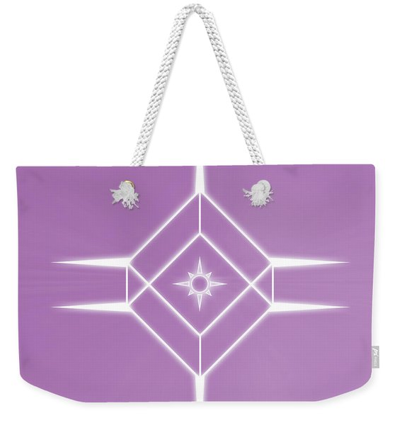 Center Of The Universe Weekender Tote Bag