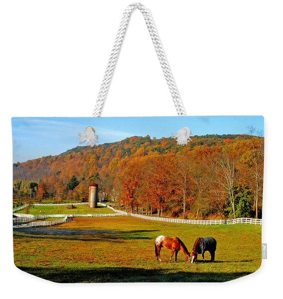 Cherry Valley, Pennsylvania Weekender Tote Bag