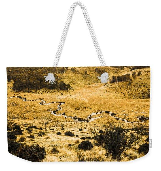 Central Highlands Of Tasmania Weekender Tote Bag