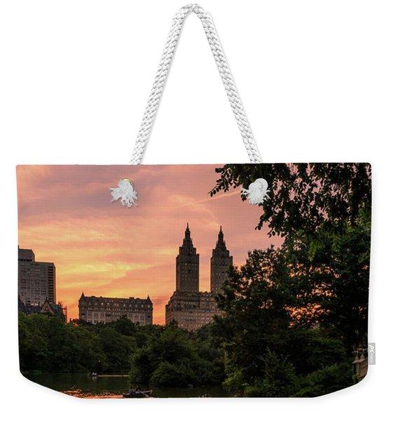 Central Life  Weekender Tote Bag