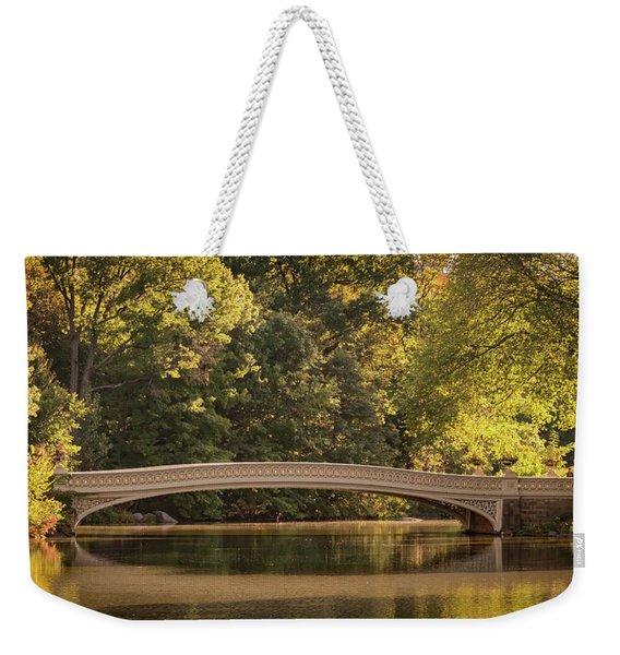 Central Park Bridge Weekender Tote Bag