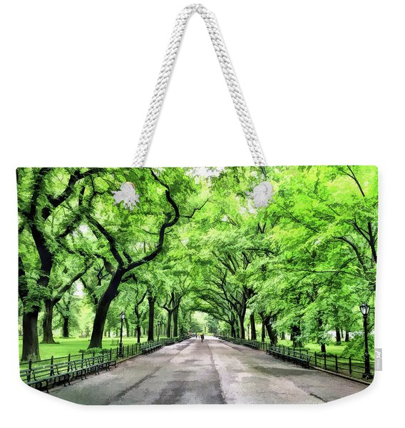 New York City Central Park Mall Weekender Tote Bag