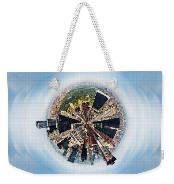 Eye Of New York Weekender Tote Bag