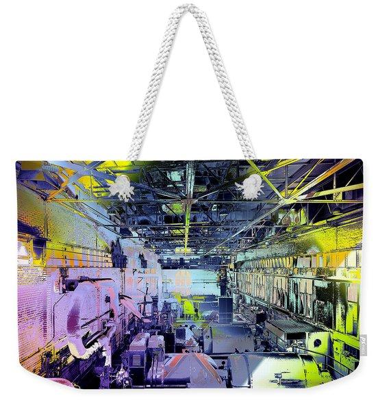 Grunge Central Power Station Weekender Tote Bag