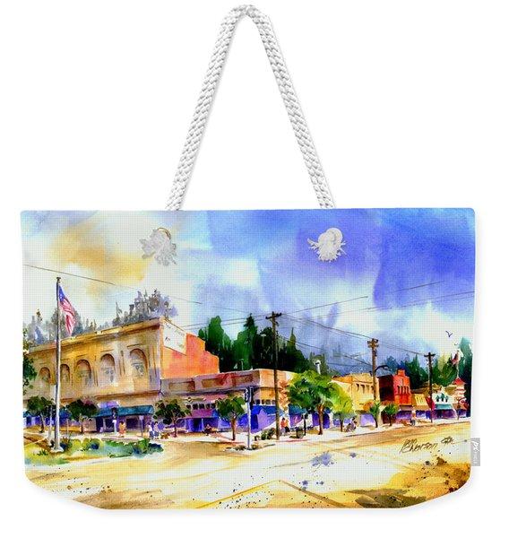 Central Square Auburn Weekender Tote Bag