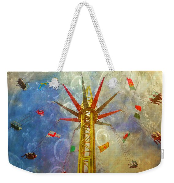 Centre Of The Universe Weekender Tote Bag