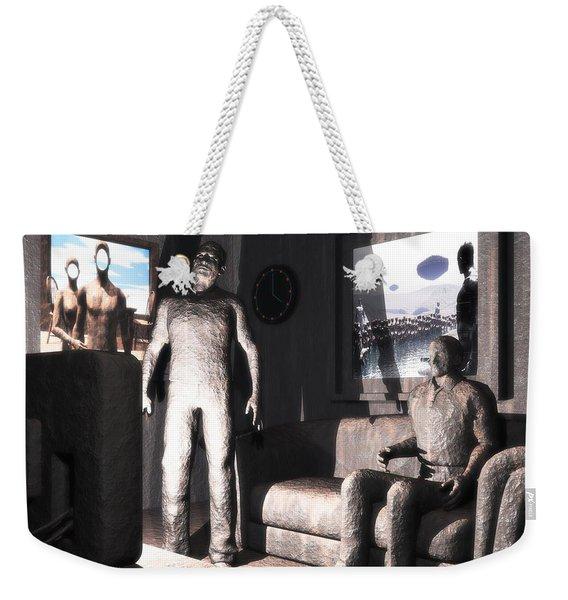 Cerebral Incinerator Weekender Tote Bag