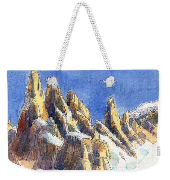 Cerro Torre, Patagonia Weekender Tote Bag