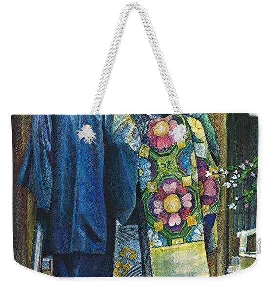 Secret Place Weekender Tote Bag