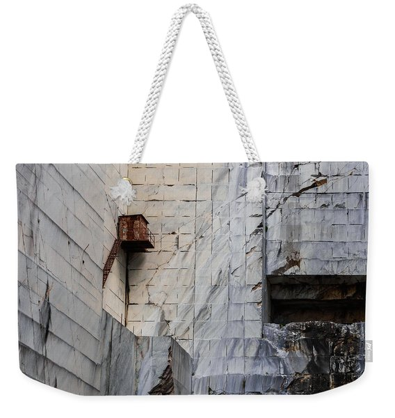 Cervaiole Quarry - Apuan Alps, Tuscany Italy Weekender Tote Bag