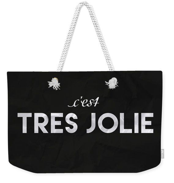 C'est Tres Jolie Weekender Tote Bag