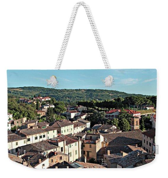 Cetona In The Morning Weekender Tote Bag