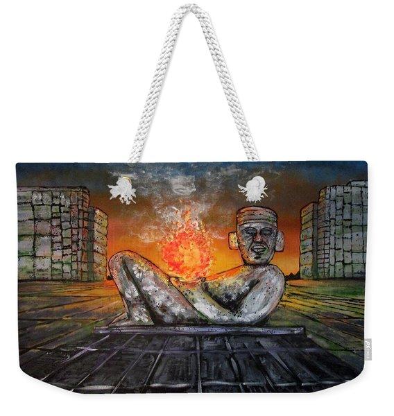 Chacmool Weekender Tote Bag