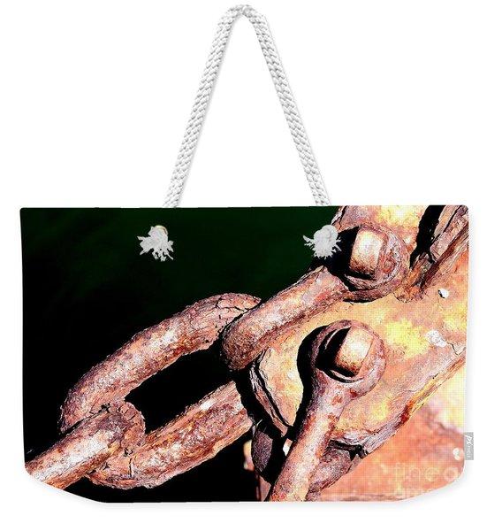Chain Age Weekender Tote Bag