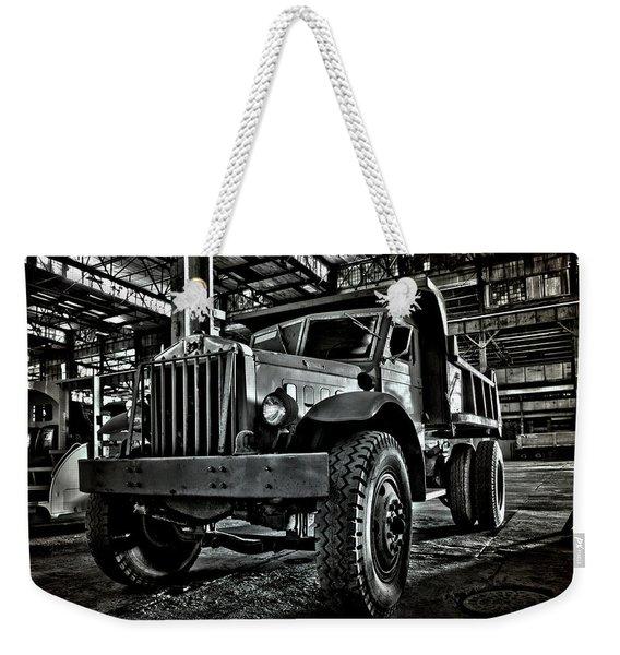 Chain Drive Sterling Weekender Tote Bag