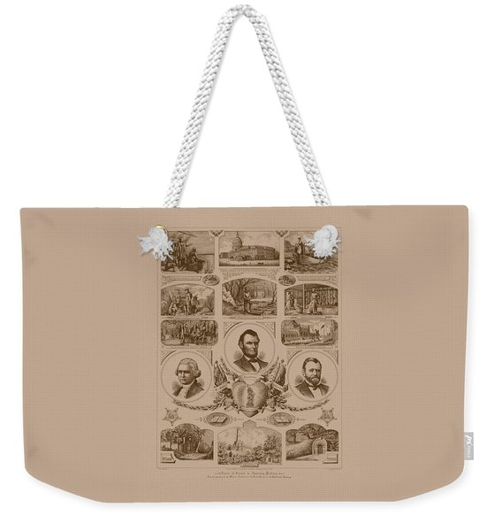 Chain Of Events In American History Weekender Tote Bag