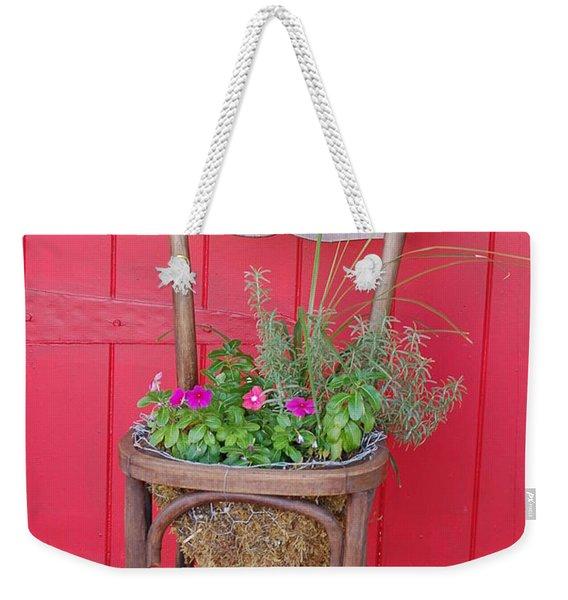 Chair Planter Weekender Tote Bag