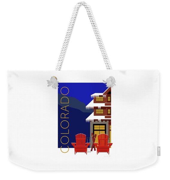 Colorado Chairs Weekender Tote Bag