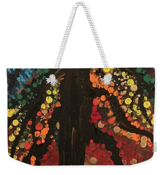 Chakra Tree Weekender Tote Bag