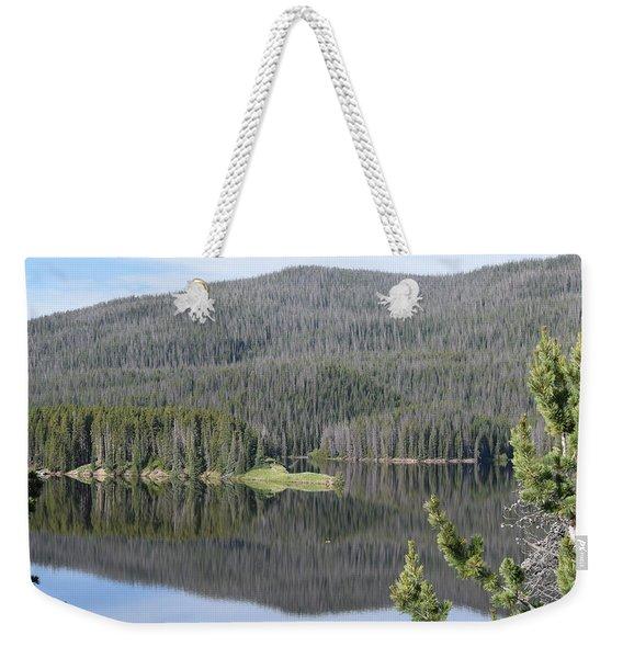 Chambers Lake Hwy 14 Co Weekender Tote Bag