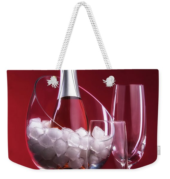 Champagne For Two Weekender Tote Bag