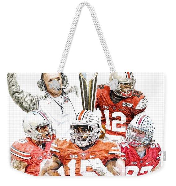 Champions Weekender Tote Bag
