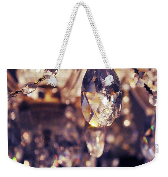Chandelier Weekender Tote Bag