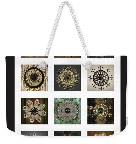 Collection Poster Chandeliers From Russia Weekender Tote Bag