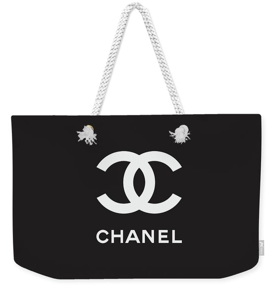 Chanel - Black And White 03 - Lifestyle And Fashion Weekender Tote Bag