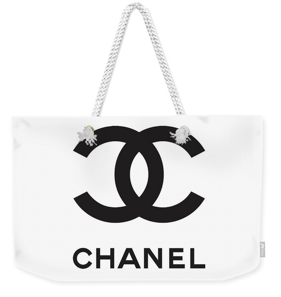 Chanel - Black And White 04 - Lifestyle And Fashion Weekender Tote Bag