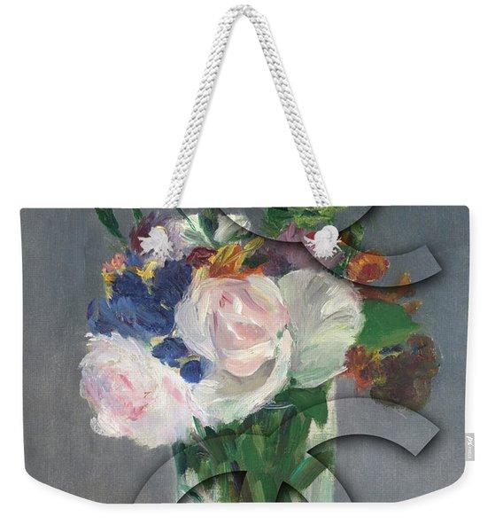 Chanel Camouflage-10 Weekender Tote Bag
