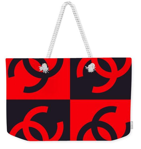 Chanel Design-3 Weekender Tote Bag