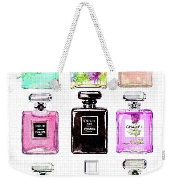 Chanel Perfume Set 9er Weekender Tote Bag