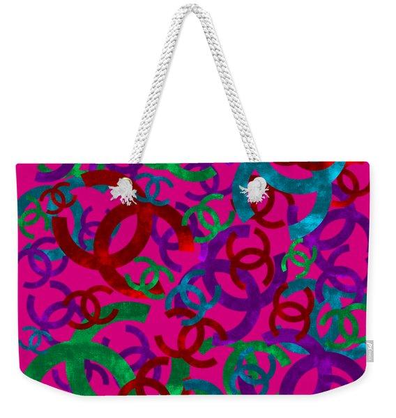 Chanel Sign-6 Weekender Tote Bag